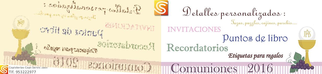 Primera Comunión: detalles personalizados para celebrarla