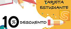 Tarjeta descuento para estudiantes en copistería Copi-Servic Jaén