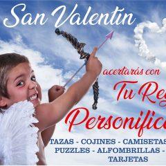 En San Valentín, tu regalo personalizado en Copi-Servic